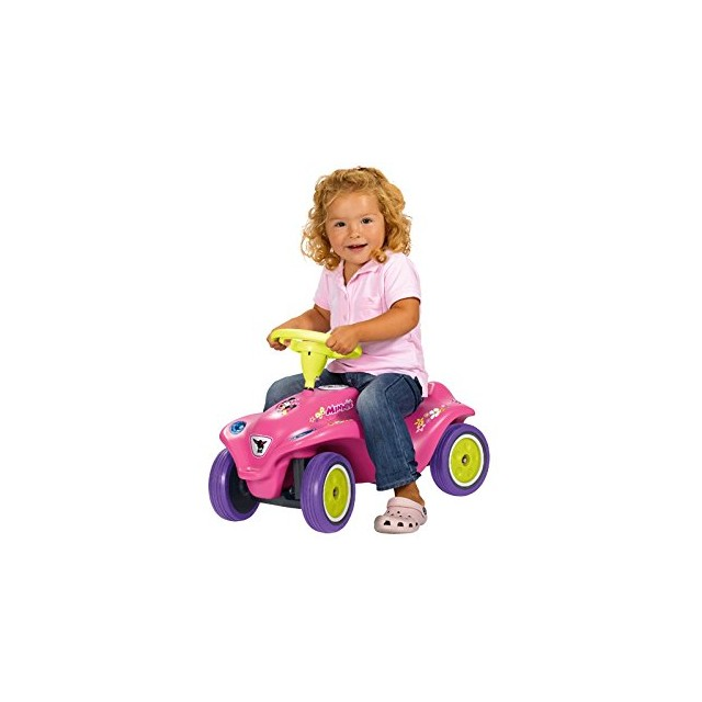 Poganjalec Big Bobby Car New Minnie Mouse Pink 56168