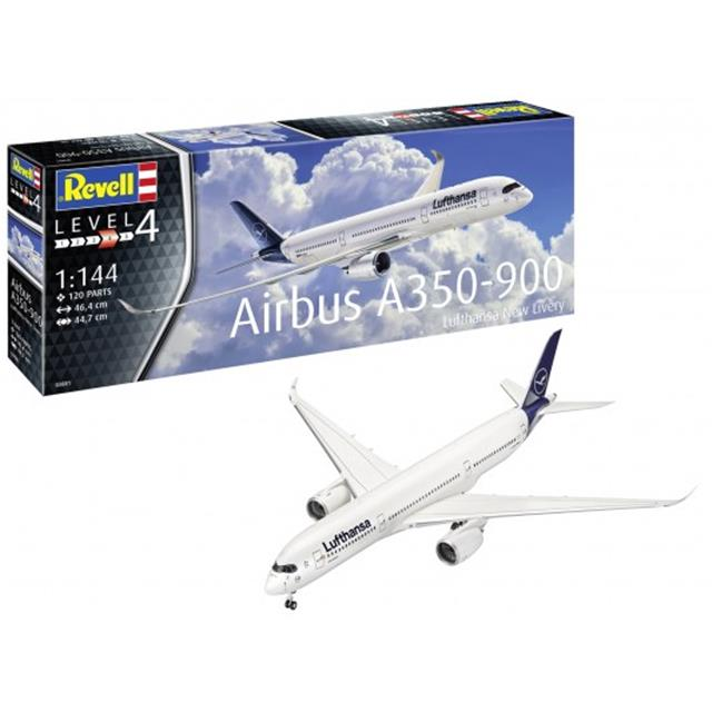 Revell Airbus A350-900 Lufthansa New Livery - 165