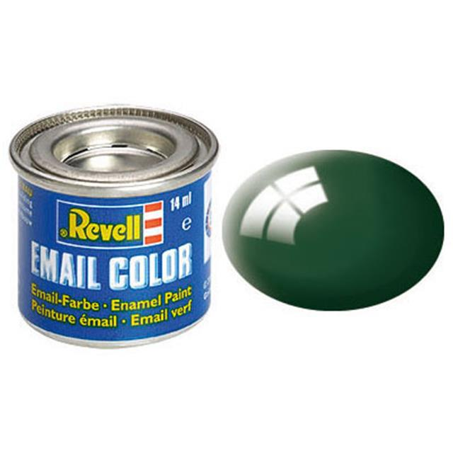 Revell email BARVA 162 - Sea Green, Gloss, 14ml, RAL 6005