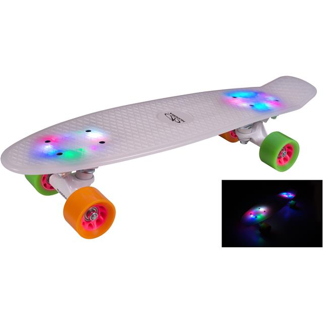 Skateboard rolka Hudora Retro Rainglow 12134