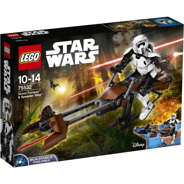 Lego Star Wars - Scout Trooper™ in Speeder Bike™ - 75532