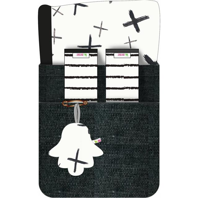 Minene Liner sets - Black Crosses