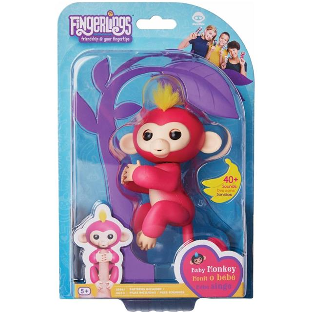 Fingerlings Opica Pink - Bella