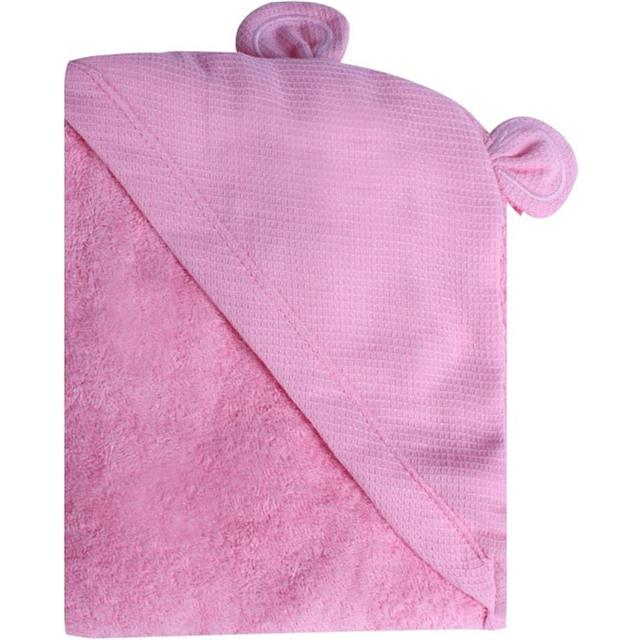 Minene Brisača Newborn Animal - Pink Bear
