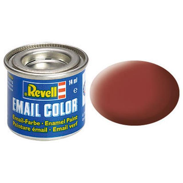 Revell email BARVA 137 - Reddish Brown, Matt, 14ml, RAL 3009