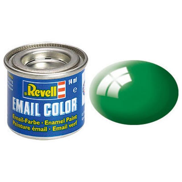 Revell email BARVA 161 - Emerald Green, Gloss, 14ml, RAL 6029